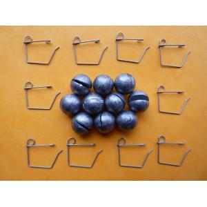 10 Agrafes N° 3 + chevrotines 9 g