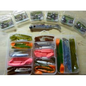 Pack 3 boites LS 9 - 11 et 14 cm + 6 boites montures
